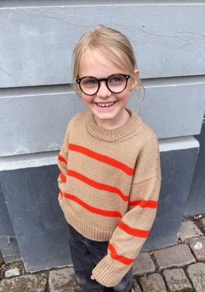Marseille Sweater Junior PetiteKnit oppskrift*