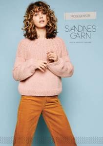 Bilde av 118 Mose genseren oppskrift Sandnes garn*