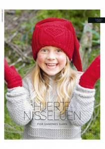 Bilde av Kbs8 Hjertenisselue Barn oppskrift Sandnes garn*