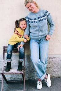 Bilde av Vendela for Sandnes garn - jakke og genser barn/dame*