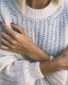 Bilde av PetiteKnit September sweater garnpakke Tynn silk mohair