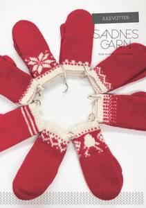 Bilde av 119 Tova julevotter oppskrift Sandnes garn*