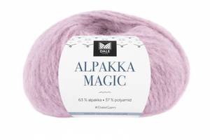 Bilde av Dale Alpakka Magic 318 Isrosa garn