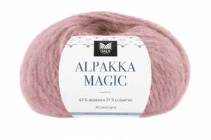 Bilde av Dale Alpakka Magic 319 Dus rosa garn