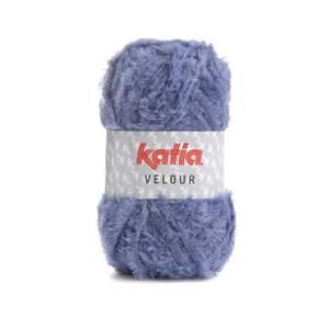 Bilde av Katia Velour 80 Lavendel garn