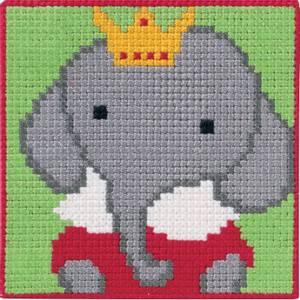 Bilde av Kits for Kids 9312 Elefant Permin broderi