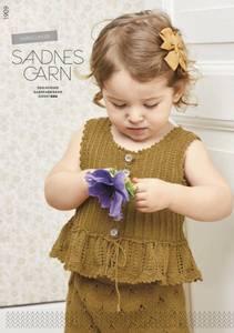 Bilde av 1909 Sommer baby oppskrift Sandnes garn*