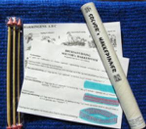 Bilde av Solvors hakkepinner 4,0, 6,0 og 9,0 mm