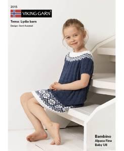 Bilde av Viking Design 2015 Lydia barn i Bambino garn 2020 katalog**