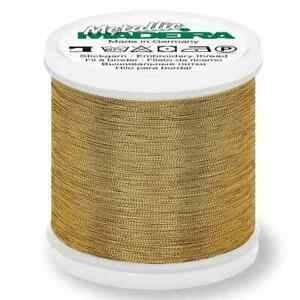 Bilde av Metallic Madeira effektgarn 324 Rosegull Gold dust