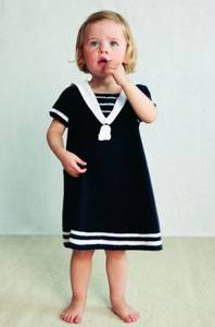 Bilde av Pt design Baby 16-3 Matrosdress og -kjole *