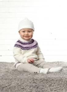Bilde av 1945 Baby genser rundfelt