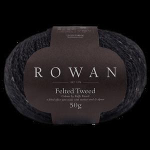 Bilde av Rowan Felted Tweed 211 Black garn