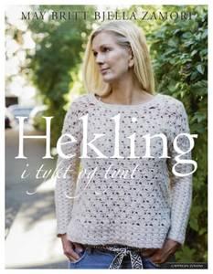 Bilde av Hekling i tykt og tynt May Britt Bjella Zamori