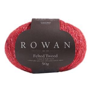 Bilde av Rowan Felted Tweed 222 Scarlet garn