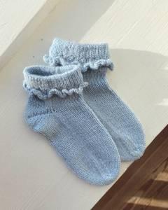 Bilde av Ruffle Socks Junior PetiteKnit oppskrift*