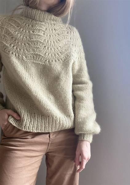 Le Knit Peacock Sweater oppskrift*