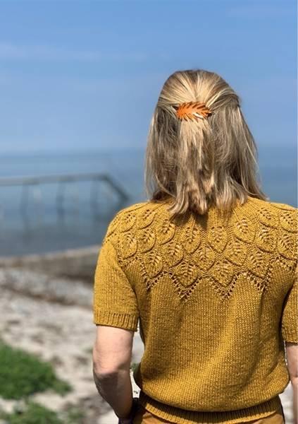 Le Knit Sommer Ella Tee oppskrift*