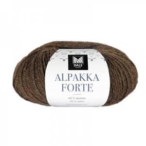 Bilde av Dale Alpakka Forte 709 Varm brun melert garn