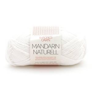 Bilde av Sandnes Mandarin Naturell 1001 Hvit garn
