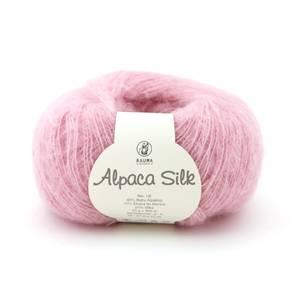 Bilde av Rauma Alpaca Silk 5115 Lys rosa garn