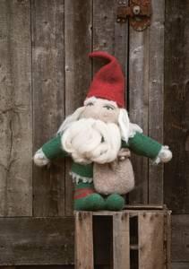 Bilde av Julenisse i Fritidsgarn garnpakke