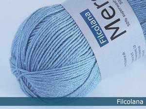 Bilde av Filcolana Merci 9245 Baby Blue garn