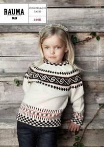 Bilde av Rauma 226R Rundfelling barn oppskrift Rauma garn*