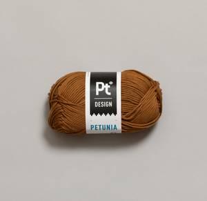 Bilde av Petunia 241 Kamelbrun Pt design Rauma garn