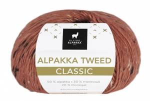 Bilde av DSA Alpakka Tweed Classic 119 Rust garn
