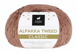 Bilde av DSA Alpakka Tweed Classic 122 Dus aprikos garn