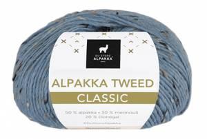 Bilde av DSA Alpakka Tweed Classic 125 Lys denim garn