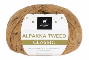 Bilde av DSA Alpakka Tweed Classic 127 Maisgul garn