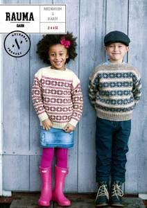 Bilde av Rauma 244R Redesign 2 barn oppskrift Rauma garn*