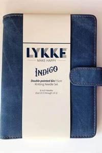 Bilde av Lykke settpinner korte 15 cm Indigo