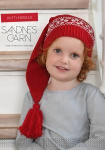 Bilde av 102 Putty nisselue Barn oppskrift Sandnes garn*