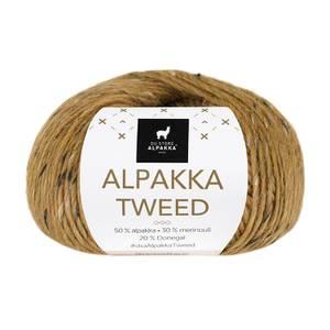 Bilde av DSA Alpakka Tweed 130 Sennep garn