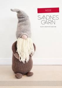 Bilde av 101 Nisse jul oppskrift Sandnes garn*