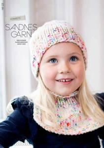 Bilde av 123 Konfetti lue og hals til barn oppskrift Sandnes garn*