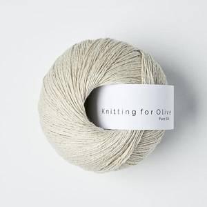 Bilde av Pure Silk Kitt Knitting for Olive