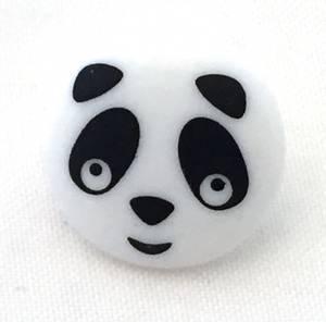 Bilde av Barneknapp, 15 mm rund panda