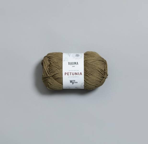 Petunia 318 Eplehagen Witre + Rauma garn