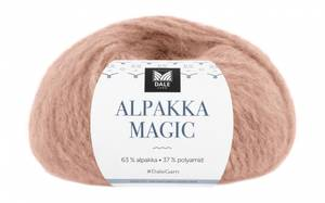 Bilde av Dale Alpakka Magic 325 Beige rose garn