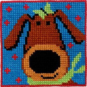 Bilde av Kits for Kids 9333 Hund Permin broderi