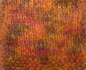 Bilde av Permin Bella Color 152 Oransje flerfarget garn