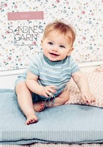 Bilde av 1709 Sommer Baby oppskrift Sandnes garn*
