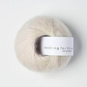 Bilde av Soft Silk Mohair Kitt Knitting for Olive