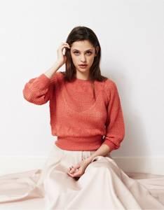 Bilde av DB008 Diamond Lace Sweater - Rialto Lace