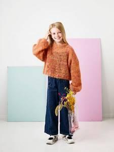 Bilde av Permin Bred jentegenser Bella Color garnpakke