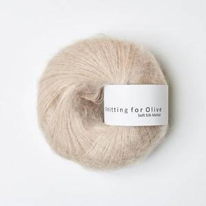 Bilde av Soft Silk Mohair Pudder Knitting for Olive